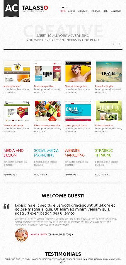 wordpress templates for advertising advertising agency wordpress theme 46377