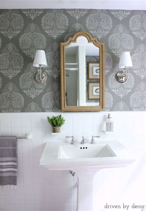 Driven By Decor by And Finally The Bathroom Reveal Driven By Decor