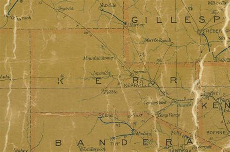 map of kerr county texas hunt texas