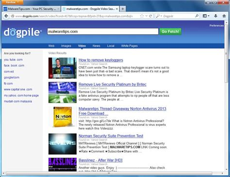 Dogpile Search Remove Dogpile Redirect Virus Removal Guide