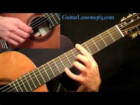 cara bermain gitar fingerstile cara bermain gitar romance 04 cara bermain