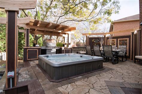 backyard hot tub design ideas backyard with hot tubs allarchitecturedesigns