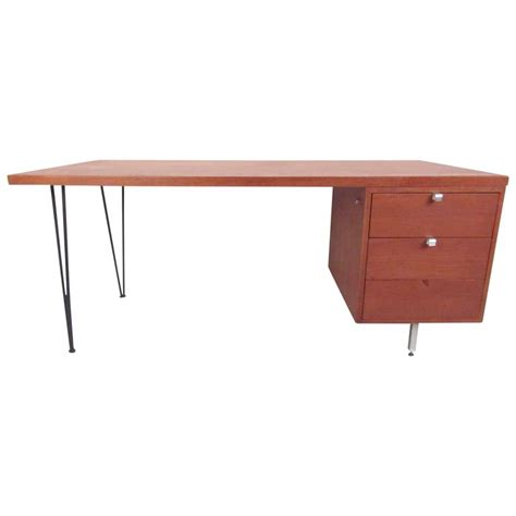 George Nelson Herman Miller Desk by George Nelson For Herman Miller Executive Desk With