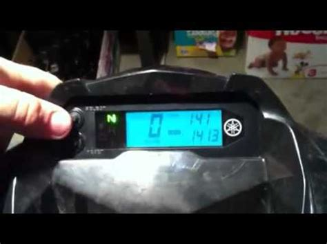 Spidometer Yamaha F1zr Original how to change from kph to mph raptor 700