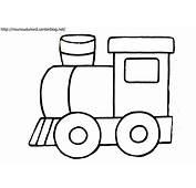 Dessin Gratuit De Locomotive