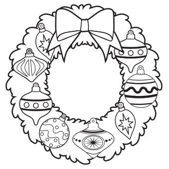 round christmas ornament coloring page 150 christmas coloring and activity round up sunshine