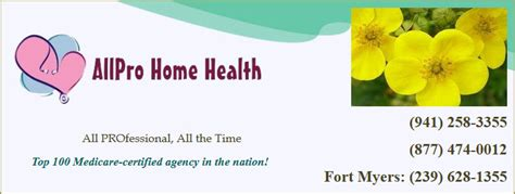 all pro home health insert everythingpuntagorda
