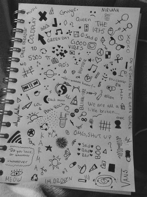 doodle ideas for school 25 best ideas about notebook doodles on