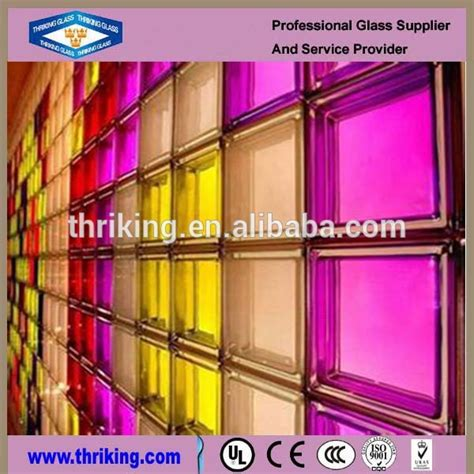 decorative glass bricks colored glass brick decorative glass block for curtain
