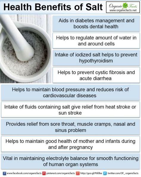 health benefits of salt ls 13 impressive benefits of salt organic facts