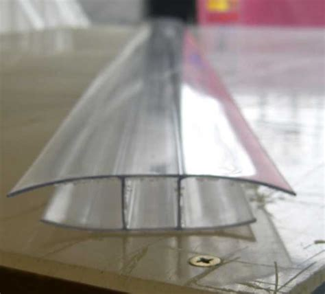 h section 3m h profile 10mm joining section clear roofacc58 the
