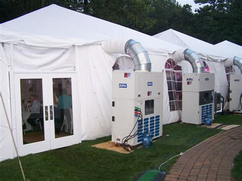 rent air conditioner for wedding event tent rental tent rental wedding rental