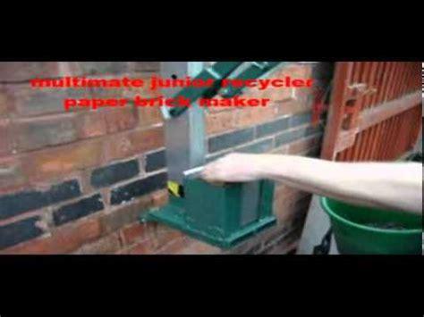 How To Make Briquettes From Paper - paper briquette maker paper brick maker