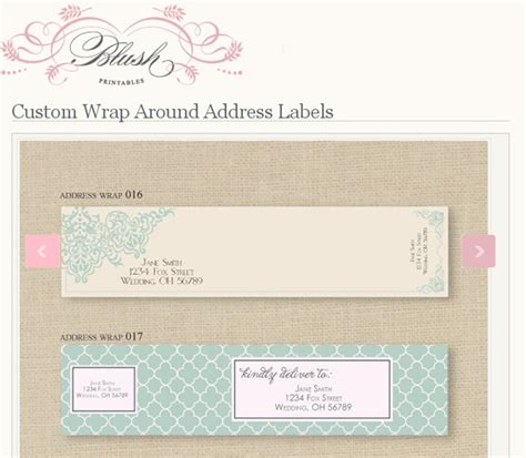 design address label loving wrap around address labels seeing design