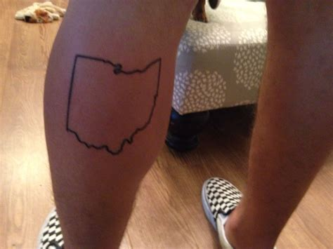 jacksonville tattoo ohio outline done by inksmith and rogers in