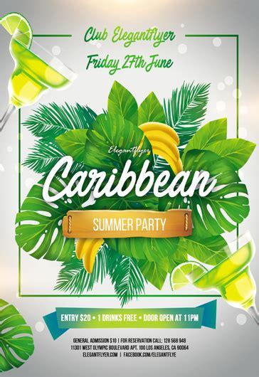 Caribbean Flyer Templates