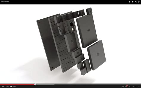 block mobile phonebloks is a stunning idea for a phone that comes apart