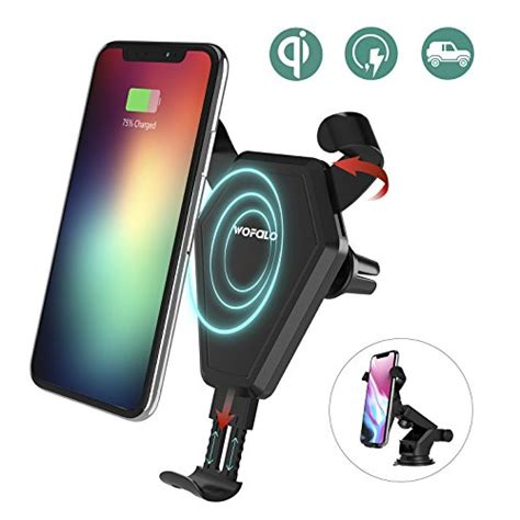 Fast Charge Wireless Charging Samsung Galaxy S8 S8plus schnelles wireless charger auto wofalo drahtlos ladeger 228 t