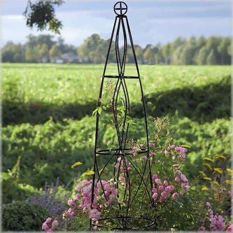 cone trellis wrought iron fences nifty homestead