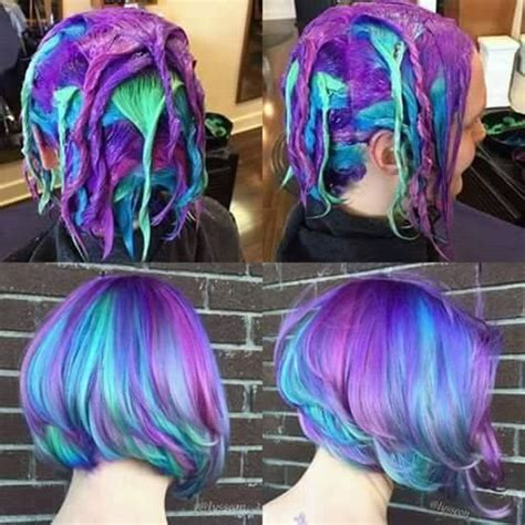 how to dye your hair neon purple 10 steps with pictures 1000 images about hair on pinterest wedding hairstyles