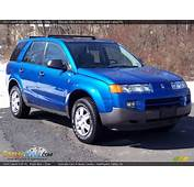 2003 Saturn VUE V6 Bright Blue / Gray Photo 3