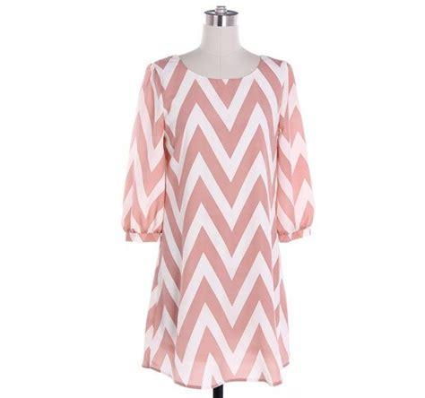 black and white zig zag pattern dress pastel pink chevron dress cute zig zag pattern dress black