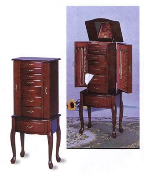 traditional jewelry armoire thomasville armoire coaster traditional jewelry armoire cherry from coaster home