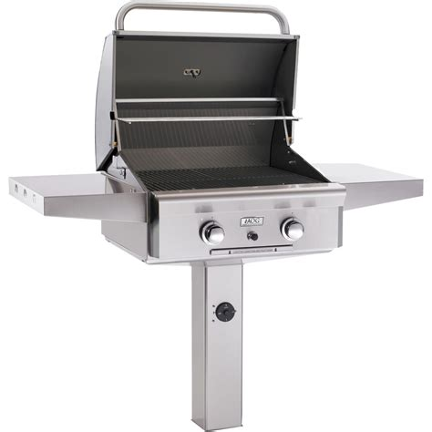 Patio Gas Grills by American Outdoor Grill 24 Inch Gas Grill On In