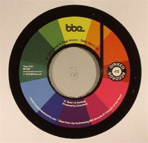 pugs atomz chris read pugs atomz baby don t go vinyl at juno records