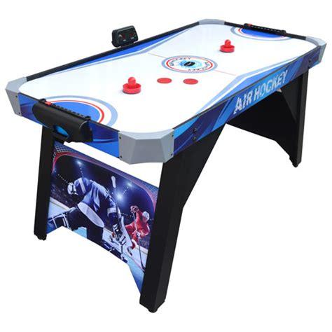60 air hockey table hathaway warrior 60 quot air hockey table bg1160 air