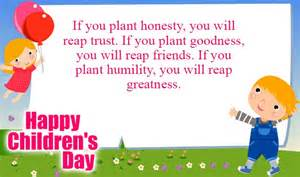 happy childrens day messages wishes sms quotes human boundary
