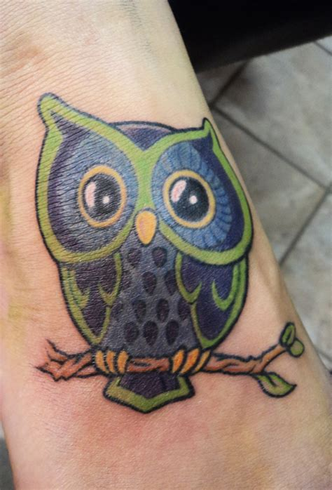 owl tattoo by kiartia on deviantart