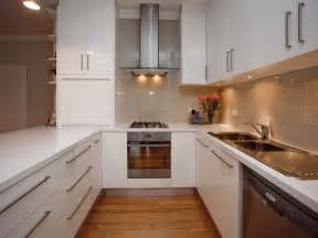 U Shaped Kitchen Design by Modern U Shaped Kitchen Design Using Glass Kitchen Photo