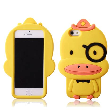 Donald Duck Yellow Iphone 4 4s Casing Cover Hardcase iphone 4 4s yellow duck silicone on luulla
