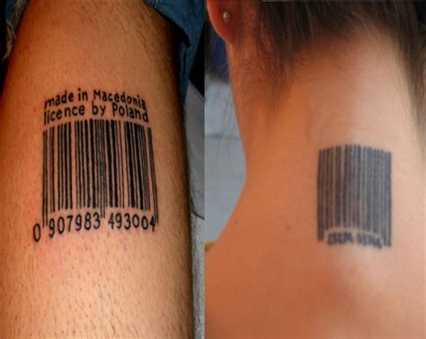 barcode tattoo design barcode tattoos designs ideas meaning me now