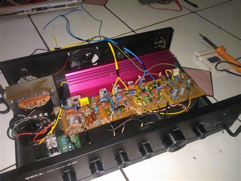 Saklar Selector Input sekilas info cara mudah merakit power lifier 200 watt stereo