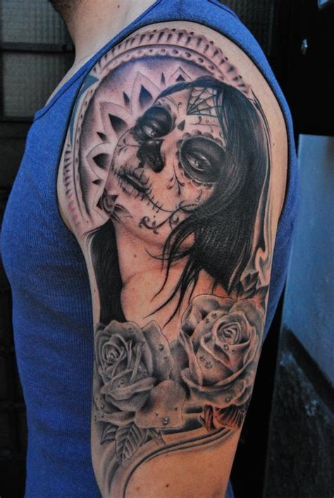 santa muerte tattoos designs tattoos and designs page 49