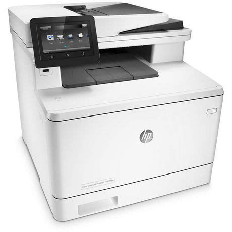 color printer walmart hp color laserjet pro m477fdw all in one laser printer