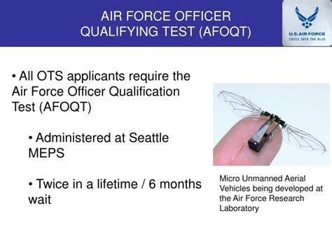 Air Officer Qualifying Test ppt officer school ots powerpoint