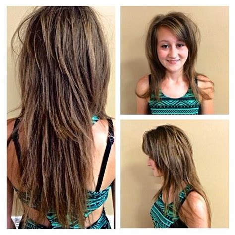 what are interior layers in hair cutting 2018 popular razor cut hairstyles long hair