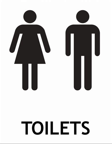 Toilet Sign printable toilet sign