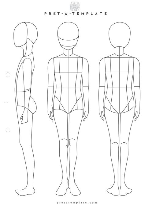 drawings templates 41 best printable templates fashion figure templates