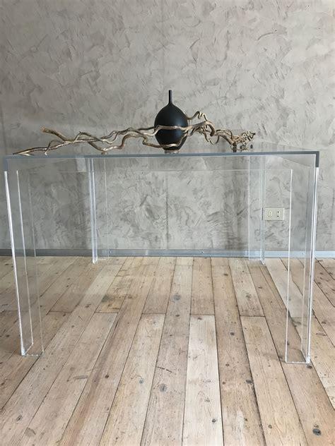 tavolo kartell invisible invisible table kartell scontato per rinnovo espositivo