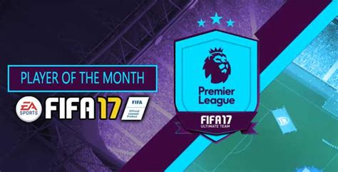 epl potm october 2017 fifa 17 player of the month list premier league s potm cards