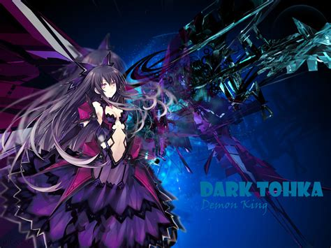 wallpaper dark tohka tohka yatogami wallpaper by laddraig on deviantart