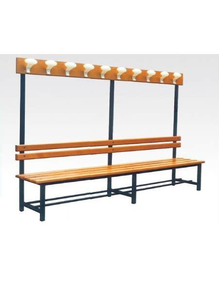 sedia attaccapanni panca con sedile spalliera attaccapanni arredamento