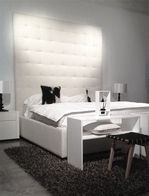 bed backboard contemporary high backboard tufted bed modern furniture