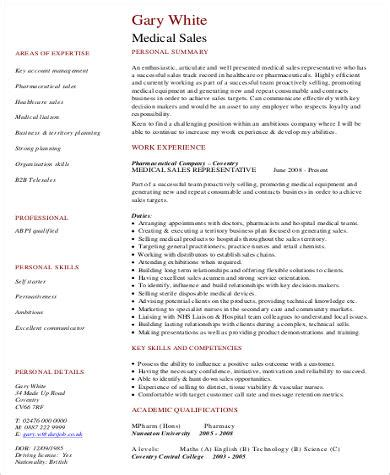 sles of resume pdf 8 sle sales resumes sle templates