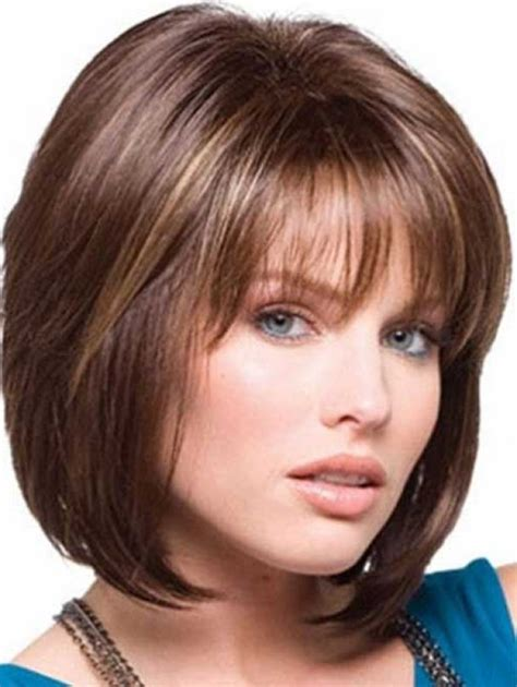 medium hairstyles layered with bangs 15 medium layered bob with bangs bob hairstyles 2015