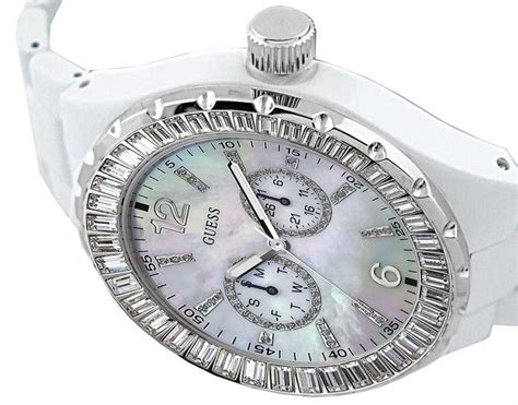 guess g135 black brand new guess white chill g13552l ebay
